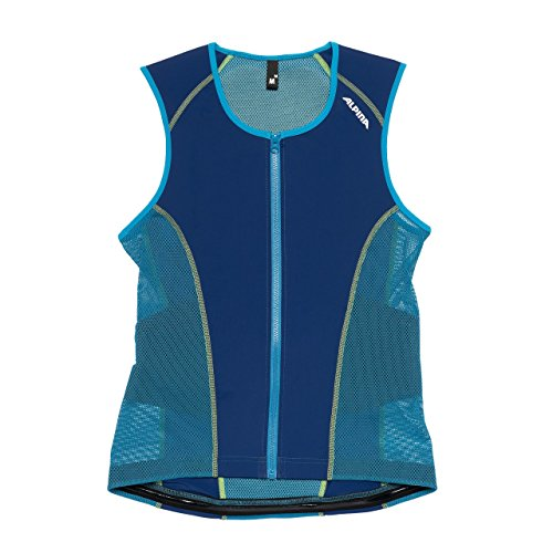 Alpina Jacket Soft Protector Men Vest (Größe: M = Körpergröße ca. 175-180 cm, 82 navy/green)