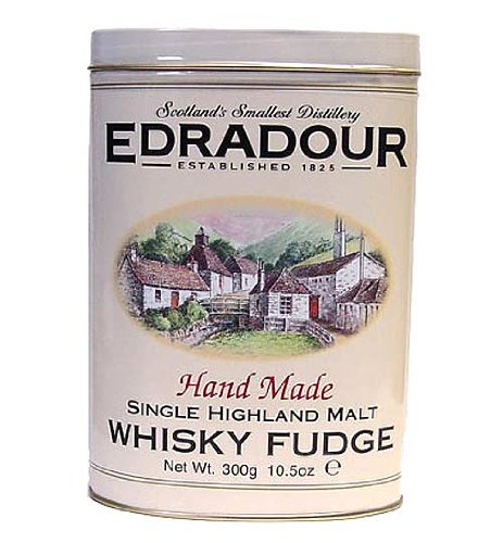Gardiners of  Scotland Edradour Hand Made Single Highland Malt Whisky Fudge, 10.5-Ounce