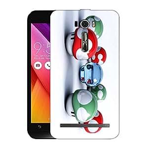 Snoogg Colorful Amazed Pattern Designer Protective Back Case Cover For ASUS ZENFONE 2 LASER ZE601KL