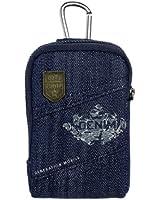 Golla G1147 Agate Étui pour Appareil photo compact Taille M Bleu