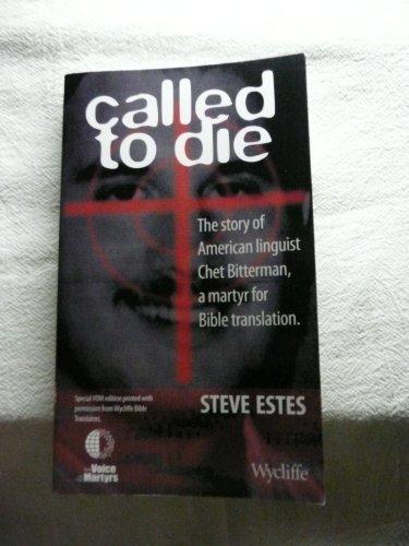 Called to Die