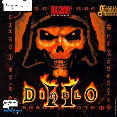 Diablo II Install Disc/PC CD Key Code (English Language) (With Instructions)