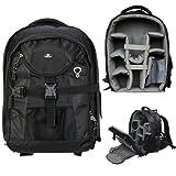 Case4Life Pro Range SLR DSLR Backpack Bag with Tripod Holder + Rain Cover for Canon EOS 100D, 1100D, 700D, 70D, 600D, 500D, 5D, 400D, 6D, 650D, 1000D - Lifetime Guaranteeby Case4Life