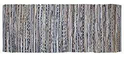 DII Home Essentials Rag Rug for Kitchen, Livingroom, Entry Way, Laundry Room, and Bedroom (2\'3\