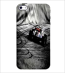 PRINTSWAG RACING CAR Designer Back Cover Case for APPLE IPHONE 4 G355H