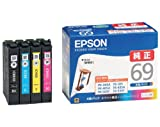 EPSON 純正インクカートリッジ IC4CL69 4色パック ランキングお取り寄せ