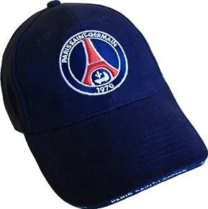 Casquette PSG - Collection officielle PARIS SAINT GERMAIN - Ligue 1 - Taille réglable