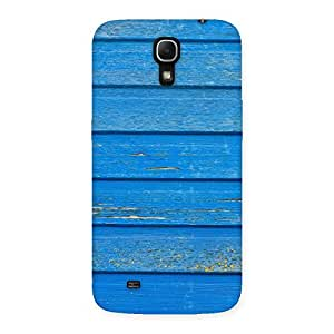 Blue Wood Texture Print Back Case Cover for Galaxy Mega 6.3