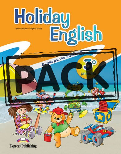 Holiday English 3º Primaria Student's Pack with Audio CD/CD-Rom (Spain)