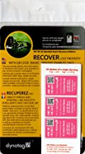 Dynotag® Web/GPS Enabled QR Smart Golf/Sports Stickers. Ready to Use, Set of 18 Identical (PINK)