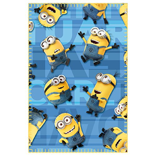 Minions 2200001655 150 x 100 cm, Character-Coperta in pile
