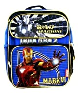 Iron man 2 Kids Backpack - Marvel Iron Man 2 Kids School Backpack