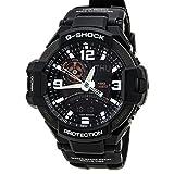 Casio G-Shock GA-1000-1A Aviation Series Men's Luxury Watch - Black / One Size (Color: Black)