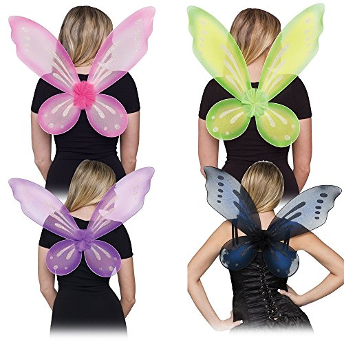 Fairy Adult Wings Costume Accessory (Green)