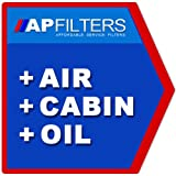 AIR OIL CABIN FILTER SERVICE KIT Chrysler Voyager 2.5 CRD MPV MK III [2000-2008]