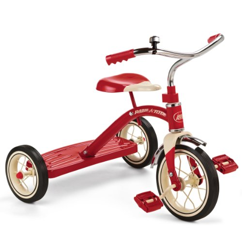 Great Deal! Radio Flyer Classic Red Tricycle, 10-Inch