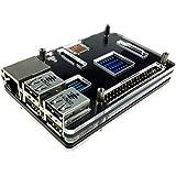 Eleduino Raspberry Pi 3 Model B and Raspberry Pi 2 Model B アクリル ケース ブラック