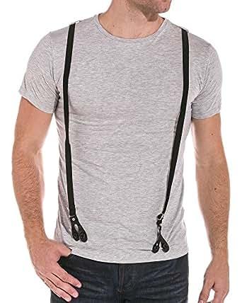 BLZ jeans - Tee shirt avec bretelles - couleur: Gris - taille: XS