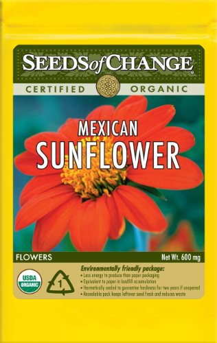 Seeds Of Change S10890 Certified Organic Mexican Sunflower