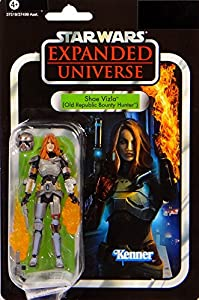 Shae Vizla Female Bounty Hunter Old Republic VC101 - Star Wars The Vintage Collection von Hasbro