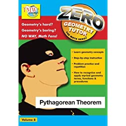 Zero The Math Hero - Pythagorean Theorem