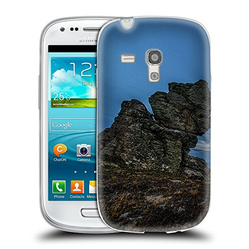 Super Galaxy TPU Gel Funda Carcasa Tapa Case Cover para // F00039115 roccia Rotted // Samsung Galaxy S3 MINI i8190