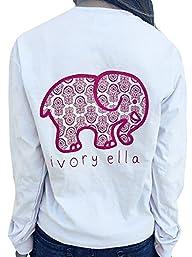 Jiujiuyi Women's Ivory Ella Elephant…