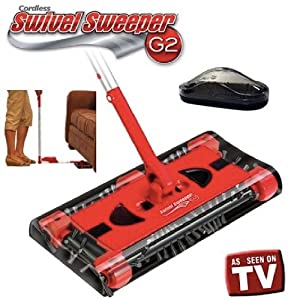 Cordless Swivel Sweeper G2 w/ Bonus Mini Sweeper