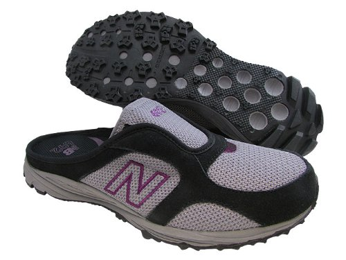New Balance Women'S Wl692 Slip-On Fashion Sneaker,Black/Grey,7 B Us