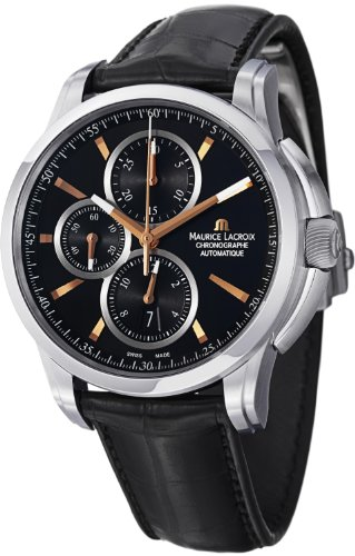 maurice-lacroix-pontos-chronograph-mens-black-leather-strap-watch-pt6188-ss001-332