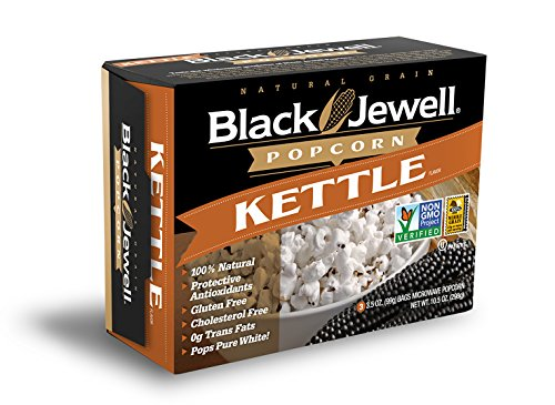 Black Jewell Premium Microwave Popcorn, Kettle, 3-Count, 10.5-Ounce Boxes (Pack of 6) (Black Jewell Microwave Popcorn compare prices)