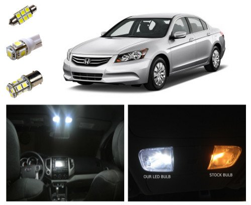 2003 2012 honda accord led package interior tag reverse lights 10 pieces 03 12 accord. Black Bedroom Furniture Sets. Home Design Ideas