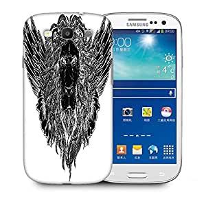Snoogg Lion With Wings Vector T Shirt Design Designer Protective Back Case Cover For Samsung Galaxy S3