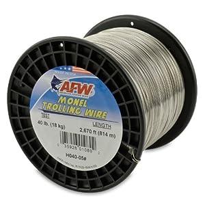 American fishing wire monel trolling wire 40 pound 2670 for American fishing wire