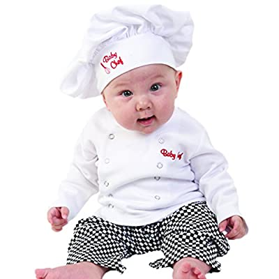 Baby Chef 3 Piece Layette Culinary Costume from Baby Aspen