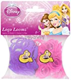 Disney Princesses Rapunzel Loom Bands and Charm Pack (200 Bands, 6 Clips and 1 Charm)