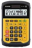 カシオ 防水・防塵電卓 WM-320MT-N ミニジャストタイプ 12桁