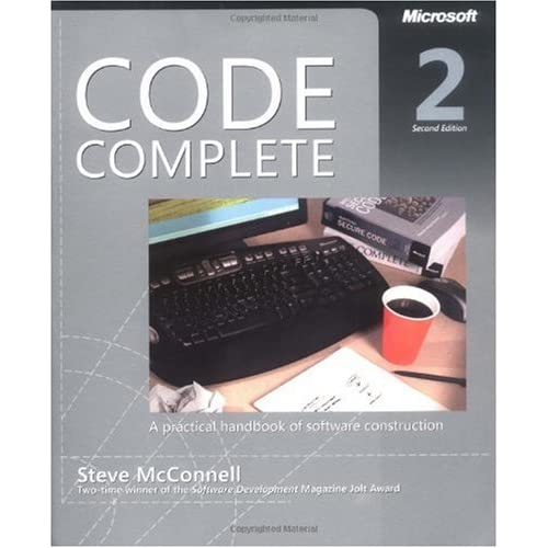 Code Complete by Steve McConnell