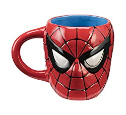 Marvel Spider-Man Sculpted Ceramic Mug