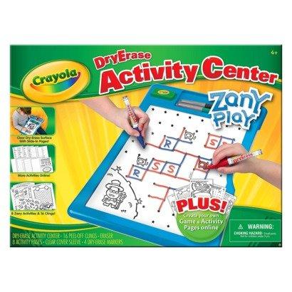 Crayola Dry-Erase Activity Center ZANY PLAY (AGE 4 AND UP)