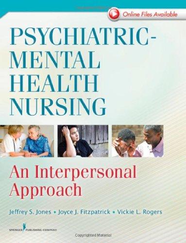 Psychiatric-Mental Health Nursing: An Interpersonal Approach front-649572