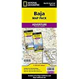 Baja California Mexico [Map Pack Bundle] (National Geographic Adventure Map)