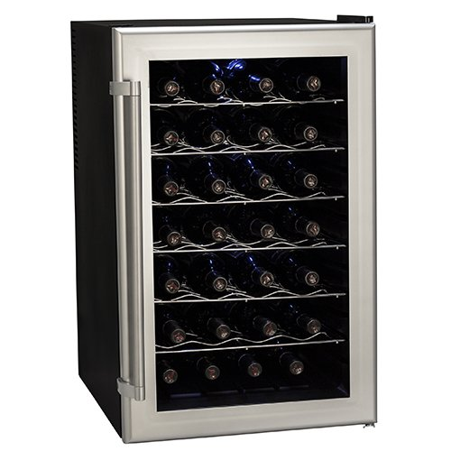 Learn More About Koldfront 28 Bottle Ultra Capacity Thermoelectric Wine Cooler - Platinum