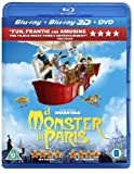 A Monster in Paris (Blu-ray 3D + Blu-ray + DVD)