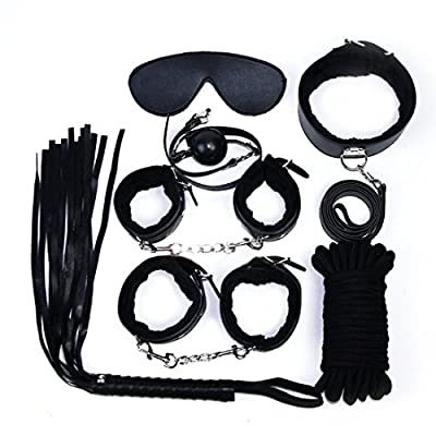 Leather Adult Sex Toys Alternative Bundled Bound Suit for 7 Pieces QQQJT-01-U
