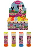 12 vasche di bolle Minnie Mouse - giocattoli Party Bag - scelto a caso (HL326)