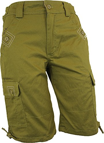 womens-premium-quality-green-brooke-casual-shorts-size-8-with-90-day-money-back-guarantee