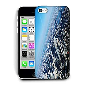 Snoogg New York From The Plane Printed Protective Phone Back Case Cover For Apple Iphone 5C