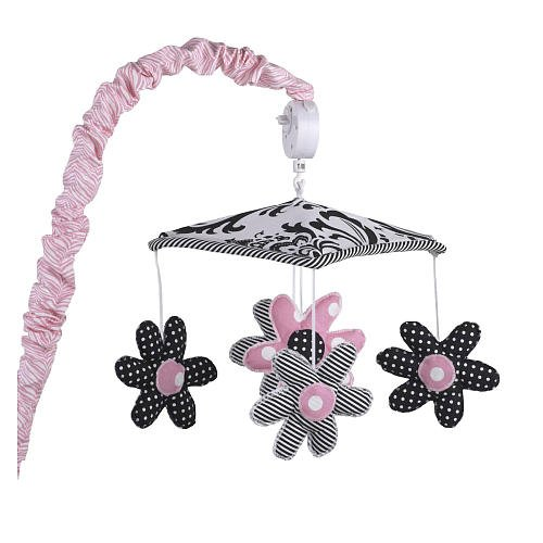 Cotton Tale Girly Musical Mobile front-648920