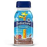 PediaSure Nutrition Drink, Chocolate, Bottles each 8 Fluid Ounces (Pack of 24) (Packaging May Vary)